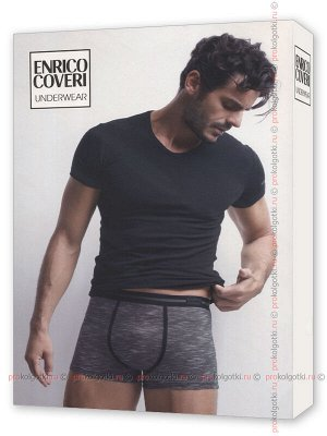 ENRICO COVERI, EC1669 uomo coord. boxer - t-shirt