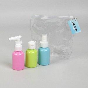 Набор для хранения, в чехле, 3 предмета, цвет МИКС