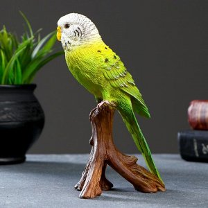 """Фигурка """"Зеленый попугай"""" 9.7 х 8 х 16.5см"""