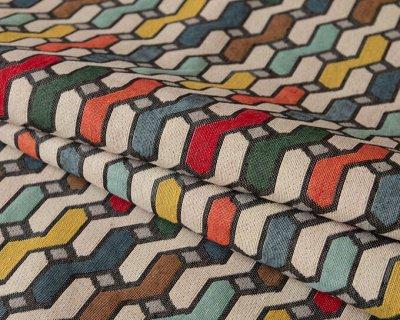 Обивка №10🛋 Ткани мебельные / Кожзам/Ковры/Подушки. [ARBEN] — Ткань мебельная HISTORY (жаккард) — Ткани
