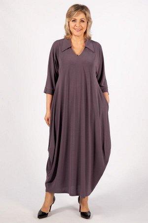 Платье Эмили коричневый