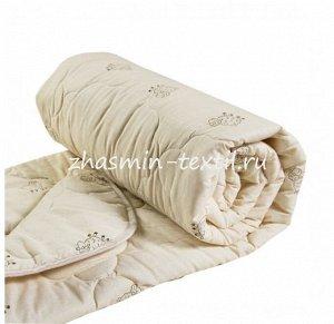 Одеяло Т0136 Овечья шерсть Поплин 300 гр/м (облегченное)