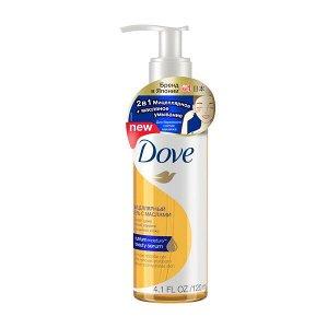 Мицеллярный гель д/снятия макияжа DOVE 120мл с маслами