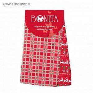 Набор из 2-х полотенец 35*63 Bonita, Новогоднее чудо