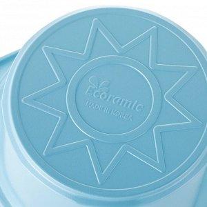 Набор кастрюль Ecoramic (голубой) с каменным покрытием