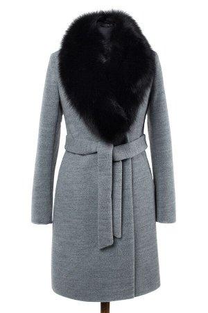 Пальто женское утепленное (пояс)