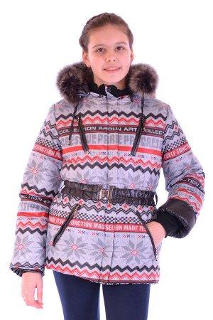 Куртка зимняя для девочки, синтепон 300 гр.