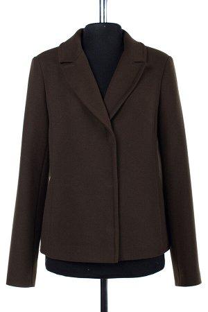 01-06972 Пальто женское демисезонное Пальтовая ткань хаки