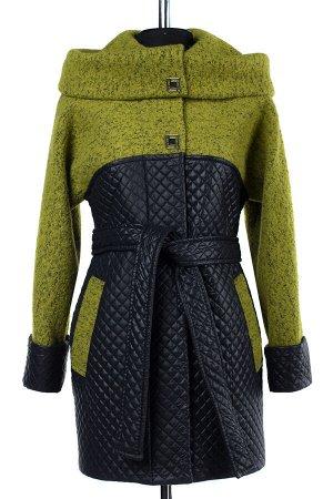 """Пальто женское демисезонное """"Amalgama"""" (пояс)"""