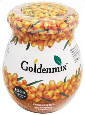 Goldenmix облепиха протертая с сахаром 220 гр