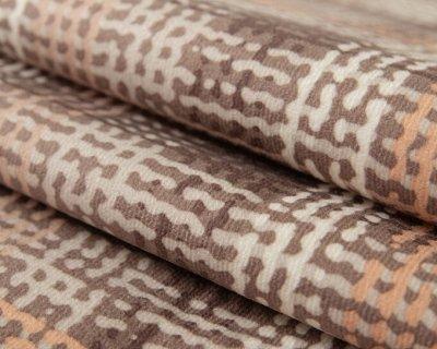 Обивка🛋Ткани мебельные/ Кожзам/ Ковры/ Подушки [ARBEN] — Ткань принт QUADRO (Микрофибра) — Чехлы для диванов