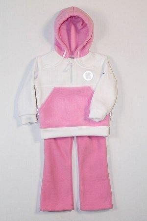 Розовый/ белый