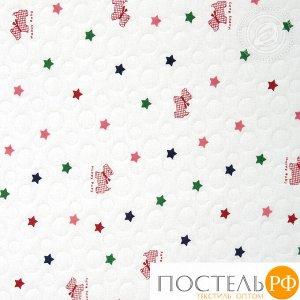 2280 Одеяло-покрывало трикотажное 100*140 Звездопад