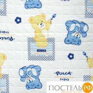 2280 Одеяло-покрывало трикотажное 100*140 Медвежата