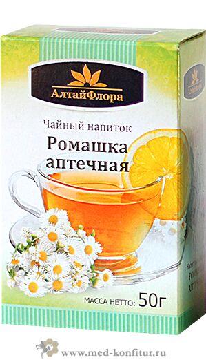 Чайный напиток Ромашка аптечная 50 гр
