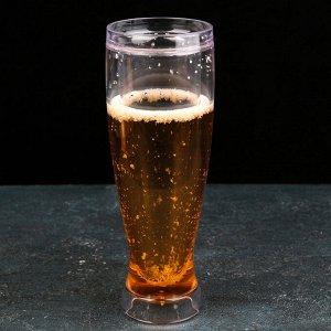 Бокал для пива охлаждающий, 450 мл