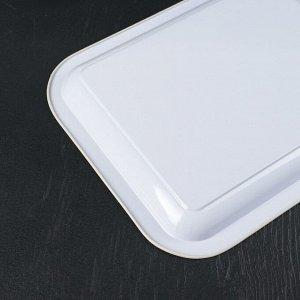 Набор подносов-мини для подачи «Десерты» 6 шт: 20,5?16,5?1,5 см