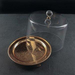 Тортовница с крышкой, 26,5?24,5 см, (D десерта до 18,5 см)