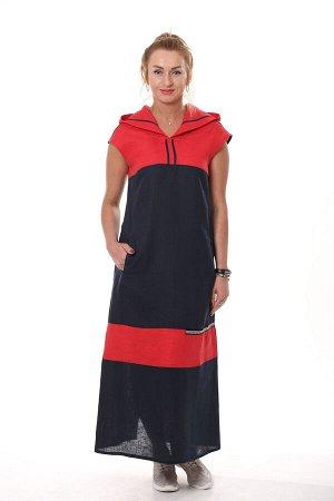 Платье Темно синий