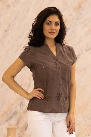 Блузка (хлопок) шитье №20-363-2