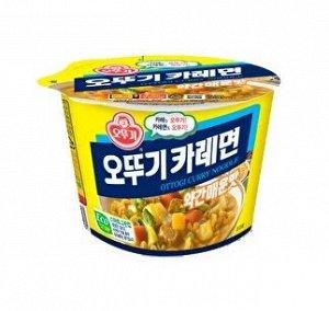 Лапша со вкусом карри Ottogi Curry Noodle 110 г