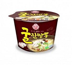 Лапша со вкусом устрицы Jin Jjambbong Ramen with Oysters 110 г