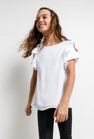 Блузка детская для девочек Susane белый