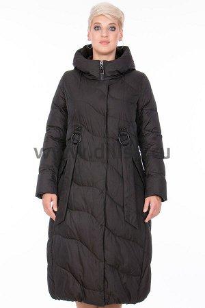 Пальто Пальто Mishele 20039_Р (Черный FQ24)  Артикул: 20039_Р; Бренд: Mishele; Сезонность: Зима; Артикул: 20039_Р; Бренд: Mishele; Сезонность: Зима; Цвет: Черный; Оттенок: Черный FQ24; Мех: Нет; Утепл