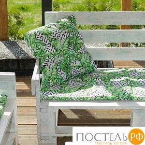 Декоративная подушка уличная «Этель» Геометрия, 45?45 см, репс с пропиткой ВМГО, 100% хлопок