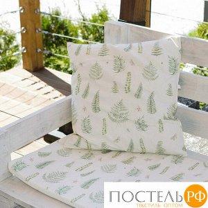 Декоративная подушка уличная Этель «Листья», 45 ? 45 см, репс с пропиткой ВМГО, 100%-ный хлопок
