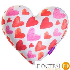 Игрушка «Сердце 3D Сердечки Big» (T2825C1701A104WH, 28х25х10, Белый, Кристалл, Микрогранулы полистирола)