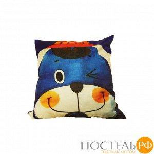 Декоративная подушка с печатным рисунком арт.1-3 (собачка)