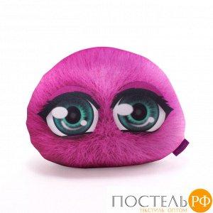 Подушка игрушка «Монстрятики» (P2431C1018S009PN, 24х31, Розовый, Велюр, Микрогранулы полистирола)