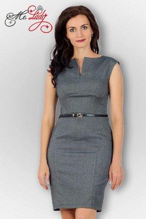 Платье Прекрасное деловое платье, выполнено из стрэйч ткани (костюмной) Прекрасная посадка по отзывам наших оптовиков. Размеры соотвествуют указанным. Исключение темно синий цвет под джинсу (МАЛОМЕРИТ