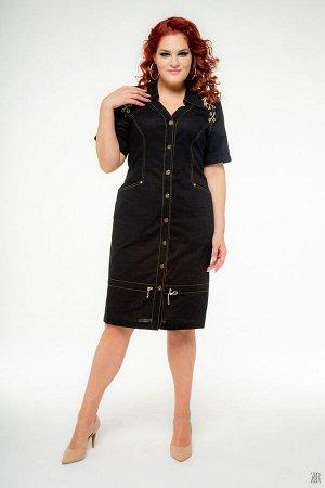 Платье женское 0529(черный)