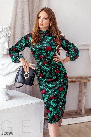 Классическое платье-миди