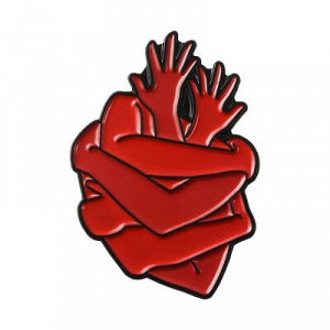 Брошь-пин Сердце 01