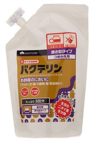 Дезодорант поглотитель запахов для домашних животных Sanmate 480 гр (сменный блок)