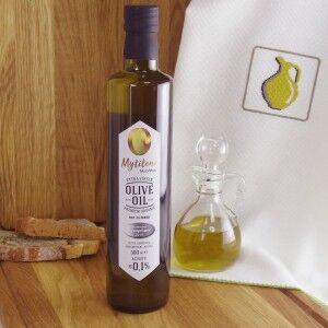 Нефильтрованное оливковое масло Mytilini ОРГАНИК, Греция, ст.бут., 500мл