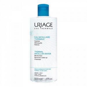 Урьяж Вода Мицеллярная очищающая для нормальной и сухой кожи 500 мл (Uriage, Гигиена Uriage)