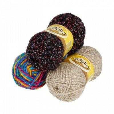 Большой выбор товаров для рукоделия 💞 Пряжа, Вышивки! — Пряжи для вязания шерсть и акрил — Пряжа