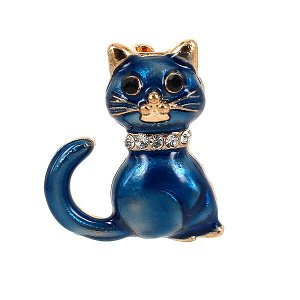 Мини-брошь «Котенок»