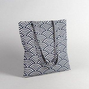 Сумка текстильная, отдел без молнии, без подклада, цвет молочный 2798233