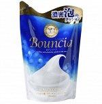 00826gshm BOUNCIA  Жидкое мыло для тела увлажняющее, сменная упаковка, 400мл