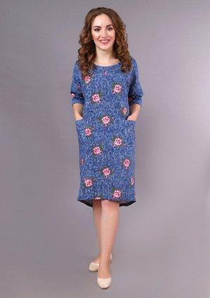 Платье Эльза (роза)