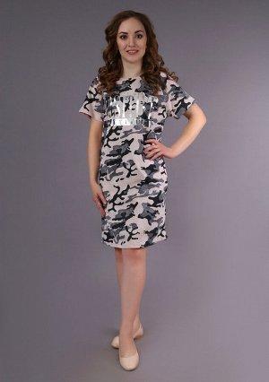 Платье Кармэн (хаки)