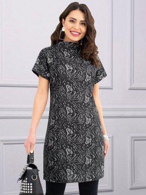 Платье-туника на 48-50