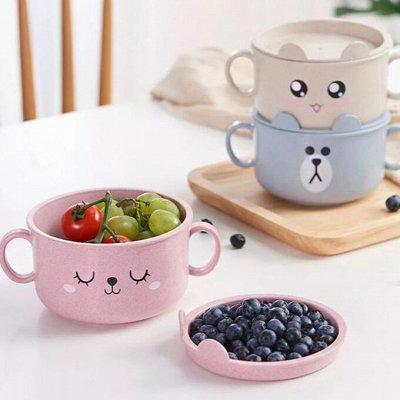❤Ковры, пуфики❤ Эко-посуда и много классного  для детей❤  — Эко тарелочки для деток — Тарелки
