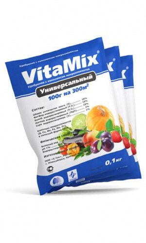 VitaMix - Универсальный, 100г, удобрение минеральное с микроэлементами