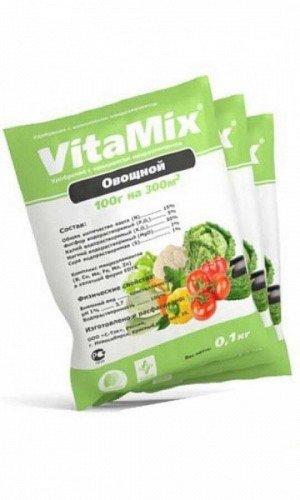 VitaMix - Овощной, 100г, удобрение минеральное с микроэлементами